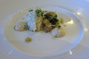 Restaurant Nathan Outlaw - Crab Salad
