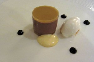Restaurant Nathan Outlaw - Chocolate Orange Cheesecake