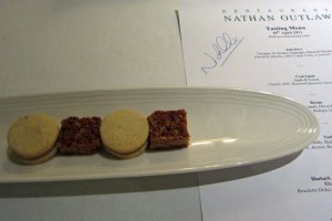 Restaurant Nathan Outlaw - Petit Fours