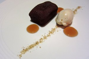 Restaurant Nathan Outlaw - Chocolate Sponge