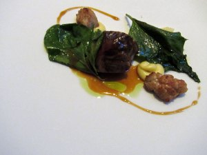 Roganic - Cumbrian hogget, artichokes and chenopodiums