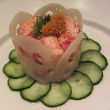 Steamed Lobster with Uni Mousse