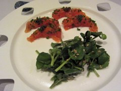 Sea Trout Carpaccio